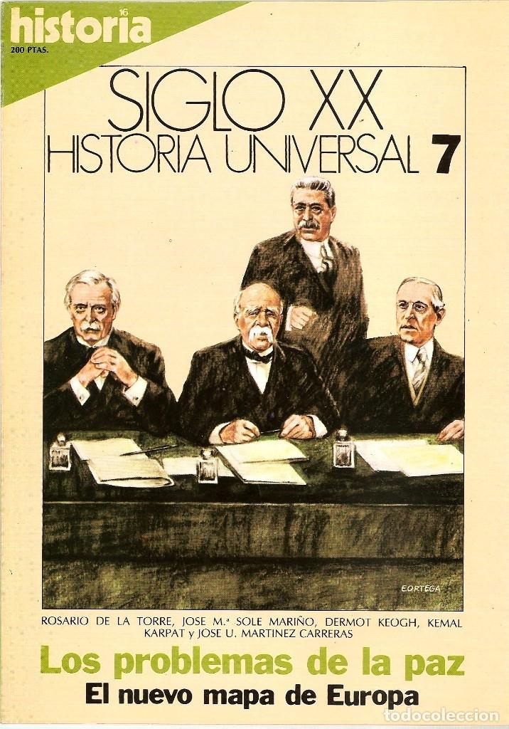 Coleccionismo de Revista Historia 16: HISTORIA UNIVERSAL SIGLO XX HISTORIA 16 16 REVISTAS - O NUMEROS SUELTOS - Foto 3 - 180416421