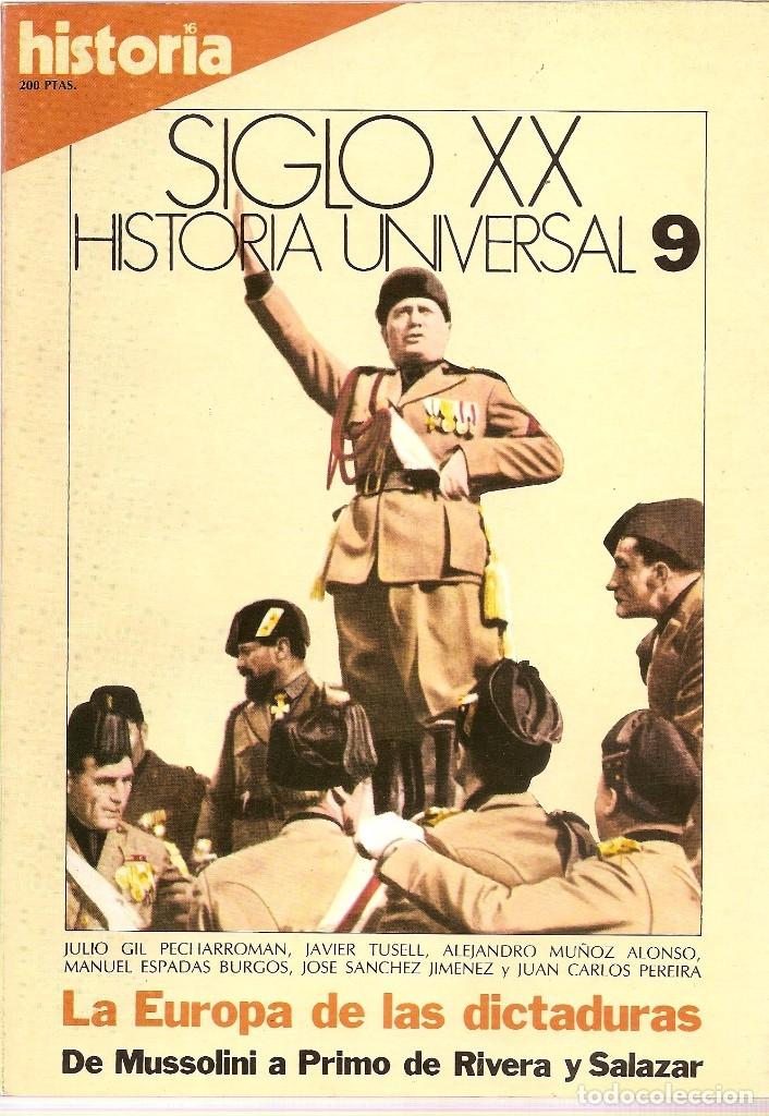 Coleccionismo de Revista Historia 16: HISTORIA UNIVERSAL SIGLO XX HISTORIA 16 16 REVISTAS - O NUMEROS SUELTOS - Foto 4 - 180416421