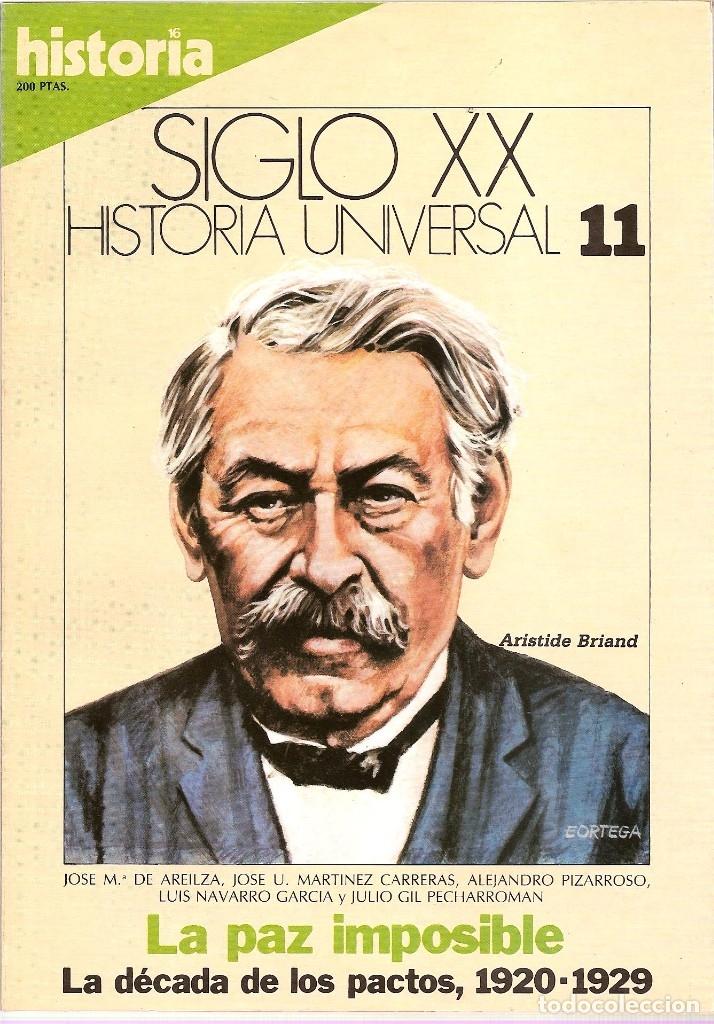 Coleccionismo de Revista Historia 16: HISTORIA UNIVERSAL SIGLO XX HISTORIA 16 16 REVISTAS - O NUMEROS SUELTOS - Foto 5 - 180416421