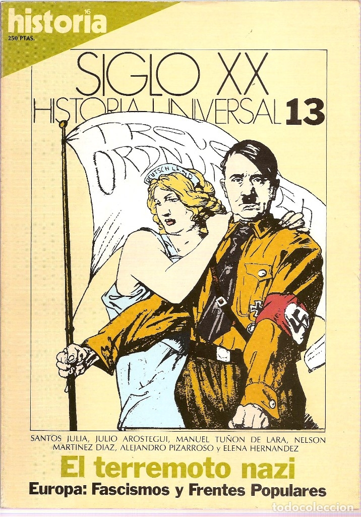 Coleccionismo de Revista Historia 16: HISTORIA UNIVERSAL SIGLO XX HISTORIA 16 16 REVISTAS - O NUMEROS SUELTOS - Foto 6 - 180416421