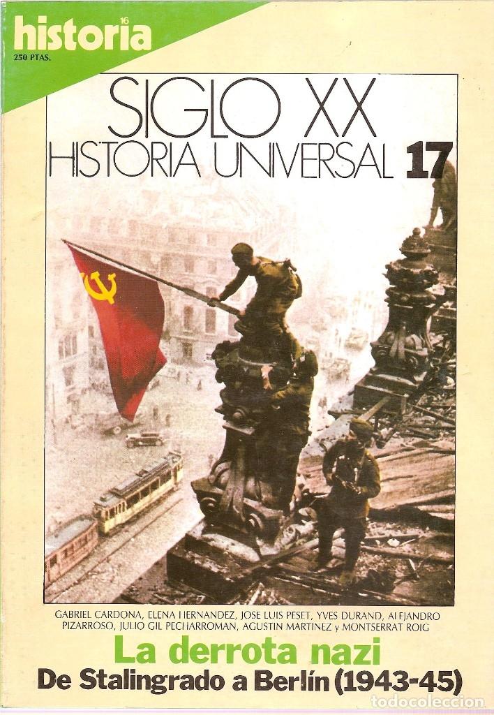 Coleccionismo de Revista Historia 16: HISTORIA UNIVERSAL SIGLO XX HISTORIA 16 16 REVISTAS - O NUMEROS SUELTOS - Foto 8 - 180416421