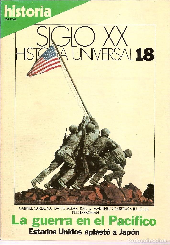 Coleccionismo de Revista Historia 16: HISTORIA UNIVERSAL SIGLO XX HISTORIA 16 16 REVISTAS - O NUMEROS SUELTOS - Foto 9 - 180416421
