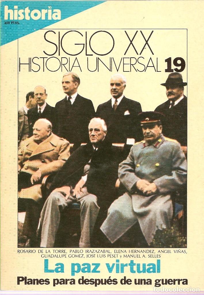 Coleccionismo de Revista Historia 16: HISTORIA UNIVERSAL SIGLO XX HISTORIA 16 16 REVISTAS - O NUMEROS SUELTOS - Foto 10 - 180416421