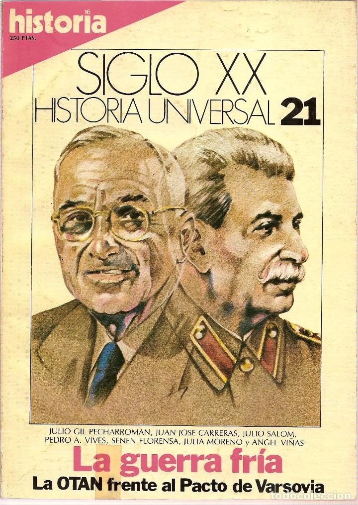 Coleccionismo de Revista Historia 16: HISTORIA UNIVERSAL SIGLO XX HISTORIA 16 16 REVISTAS - O NUMEROS SUELTOS - Foto 11 - 180416421