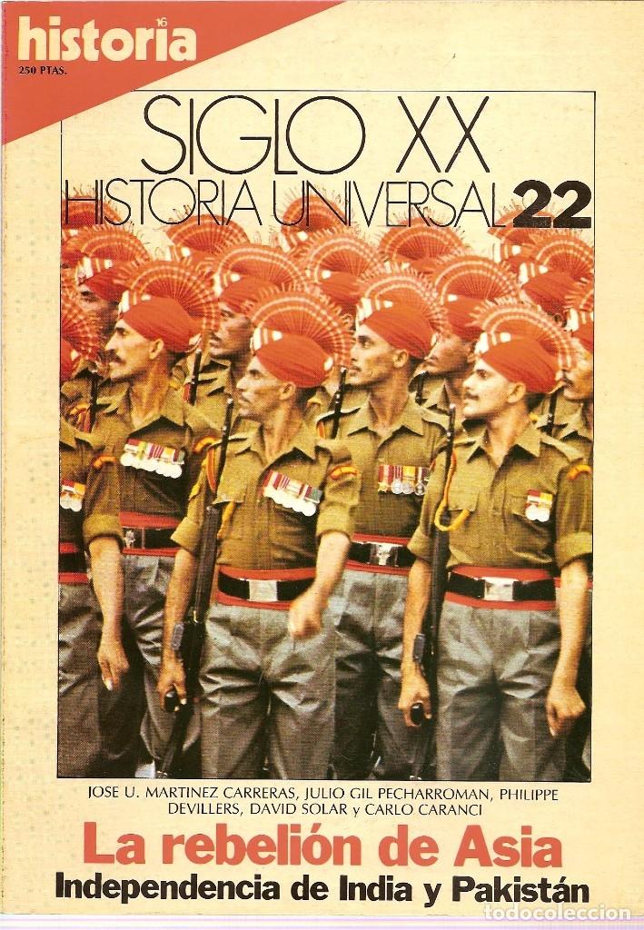 Coleccionismo de Revista Historia 16: HISTORIA UNIVERSAL SIGLO XX HISTORIA 16 16 REVISTAS - O NUMEROS SUELTOS - Foto 12 - 180416421