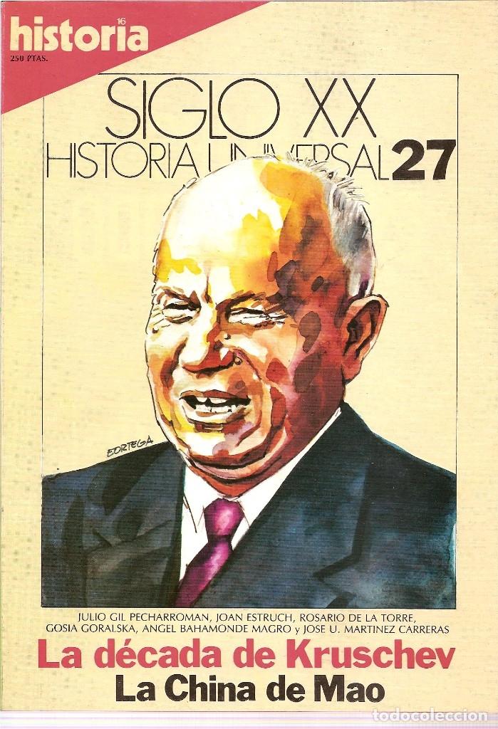 Coleccionismo de Revista Historia 16: HISTORIA UNIVERSAL SIGLO XX HISTORIA 16 16 REVISTAS - O NUMEROS SUELTOS - Foto 15 - 180416421