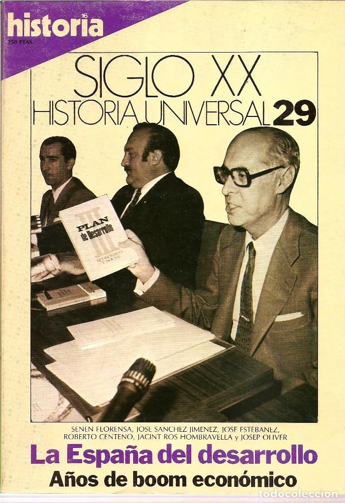 Coleccionismo de Revista Historia 16: HISTORIA UNIVERSAL SIGLO XX HISTORIA 16 16 REVISTAS - O NUMEROS SUELTOS - Foto 16 - 180416421