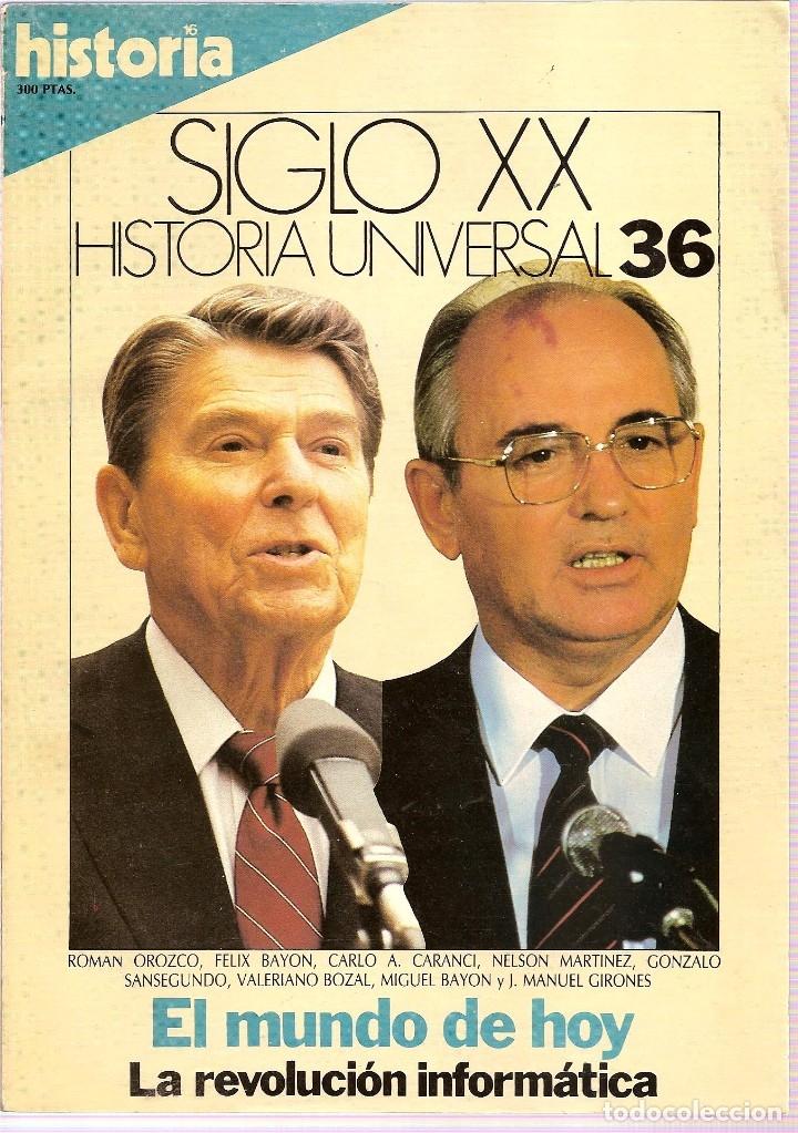 Coleccionismo de Revista Historia 16: HISTORIA UNIVERSAL SIGLO XX HISTORIA 16 16 REVISTAS - O NUMEROS SUELTOS - Foto 17 - 180416421