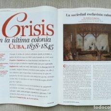 Coleccionismo de Revista Historia 16: HISTORIA 16 FEB 1997- CUBA 1838 1845- ALEJANDRIA DE CLEOPATRA - BRIGADAS INTERNACIONALES - F SCHUBER. Lote 180949085