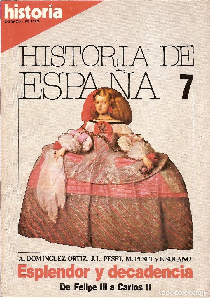 Coleccionismo de Revista Historia 16: 5 REVISTAS HISTORIA 16 EXTRA -HISTORIA ESPAÑA 1-2-7-Y 13 HISTORIA EXTRA III JUNIO 1977 - Foto 4 - 181415493