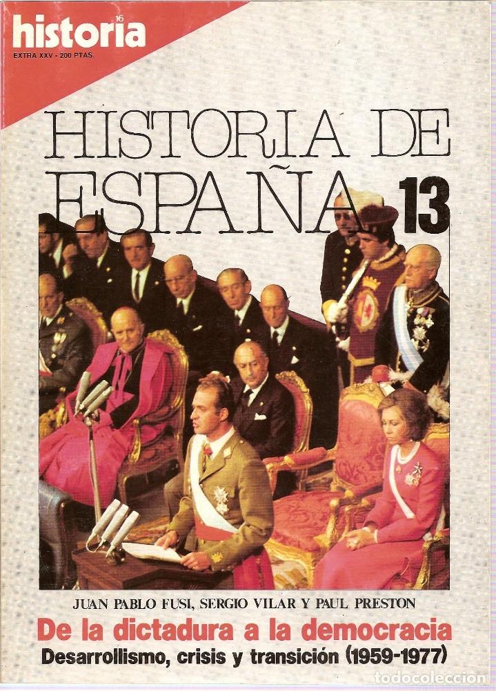 Coleccionismo de Revista Historia 16: 5 REVISTAS HISTORIA 16 EXTRA -HISTORIA ESPAÑA 1-2-7-Y 13 HISTORIA EXTRA III JUNIO 1977 - Foto 5 - 181415493