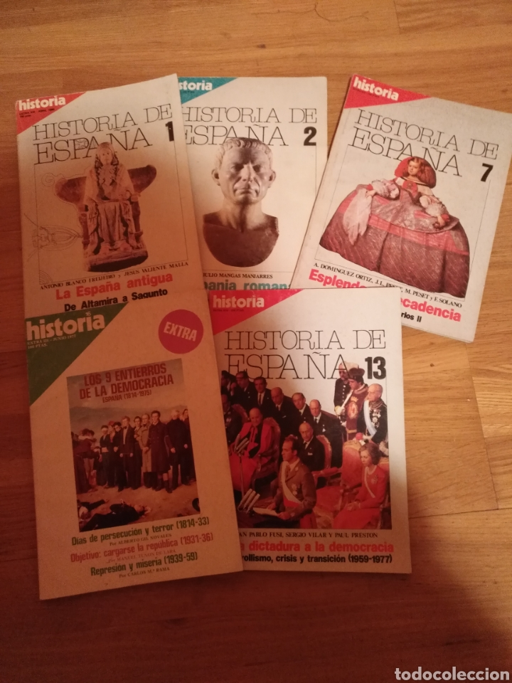 5 REVISTAS HISTORIA 16 EXTRA -HISTORIA ESPAÑA 1-2-7-Y 13 HISTORIA EXTRA III JUNIO 1977 (Coleccionismo - Revistas y Periódicos Modernos (a partir de 1.940) - Revista Historia 16)