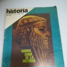 Coleccionismo de Revista Historia 16: REVISTA HISTORIA 16. AÑO III. Nº 26. JUNIO 1978. SUMER, CUNA DE LA HISTORIA. Lote 181550438