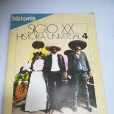Coleccionismo de Revista Historia 16: REVISTA HISTORIA 16. AMERICA ENTRA EN ESCENA. SIGLO XX. HISTORIA UNIVERSAL. 4. Lote 181550561