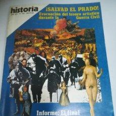Coleccionismo de Revista Historia 16: REVISTA. HISTORIA 16. AÑO XIV. Nº 163. INFORME: EL FINAL DE LOS VISIGODOS.. Lote 181552502