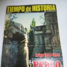 Coleccionismo de Revista Historia 16: REVISTA. TIEMPO DE HISTORIA. AÑO I. Nº 5. ENRIQUE TIERNO GALVAN. PABLO IGLESIAS. Lote 181553066