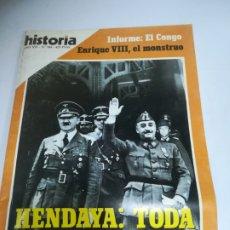 Coleccionismo de Revista Historia 16: REVISTA. HISTORIA 16. AÑO XVI. Nº 184. HENDAYA: TODA LA VERDAD. CUANDO NOS LIBRO DE OTRA GUERRA. Lote 181553417
