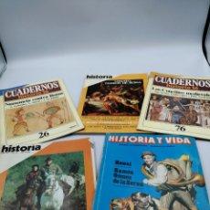 Coleccionismo de Revista Historia 16: HISTORIA, HISTORIA Y VIDA Y CUADERNOS HISTORIA 16. Lote 182989761