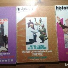 Coleccionismo de Revista Historia 16: 6 VOLÚMENES DE LA REVISTA HISTORIA 16 (CON ARTÍCULOS SOBRE LA GUERRA CIVIL) (REPÚBLICA, FRANQUISMO). Lote 183335628