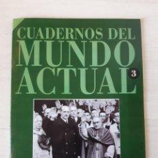 Coleccionismo de Revista Historia 16: CUADERNOS DEL MUNDO ACTUAL. NÚMERO 3. Lote 185966167