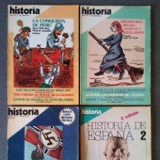 Coleccionismo de Revista Historia 16: LOTE REVISTAS HISTORIA 16. Lote 189217647