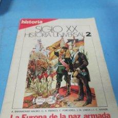 Coleccionismo de Revista Historia 16: REVISTA HISTORIA 16. SIGLO XX HISTORIA UNIVERSAL. NÚMERO 2. Lote 191143760
