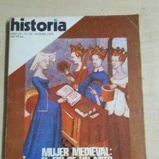 Coleccionismo de Revista Historia 16: HISTORIA 16 N° 21 ENERO 1978 MUJER MEDIEVAL EL FIN DE UN MITO. Lote 191230661