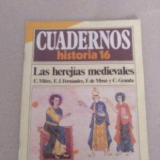 Coleccionismo de Revista Historia 16: CUADERNO HISTORIA 16 NÚM 66. LAS HEREJÍAS MEDIEVALES. E MITRE, F J FERNÁNDEZ, F DE MOXÓ Y V GRANDA. Lote 191795861