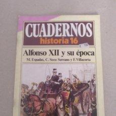 Coleccionismo de Revista Historia 16: CUADERNO HISTORIA 16 NÚM 68. ALFONSO XII Y SU ÉPOCA. ESPADAS, SECO SERRANO Y VILLACORTA. CUADERNO. Lote 191903505