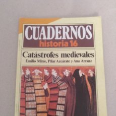 Coleccionismo de Revista Historia 16: CUADERNO HISTORIA 16 NÚM 120. CATÁSTROFES MEDIEVALES. E MITRE, P AZCÁRATE Y A ARRANZ. CUADERNO. Lote 191903728