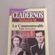 Coleccionismo de Revista Historia 16: CUADERNO HISTORIA 16 NÚM 203. LA COMMONWEALTH. PABLO IRAZAZÁBAL. CUADERNO. Lote 191972968