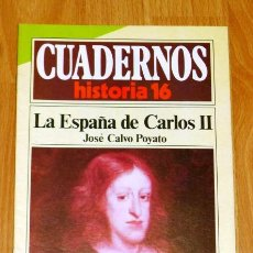 Coleccionismo de Revista Historia 16: CUADERNOS HISTORIA 16. 211 : LA ESPAÑA DE CARLOS II / JOSÉ CALVO POYATO. Lote 251903270