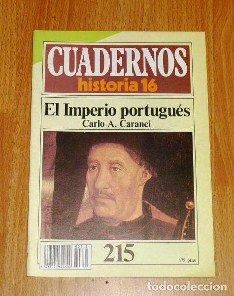 CUADERNOS HISTORIA 16. 215 : EL IMPERIO PORTUGUÉS / CARLO A. CARANCI (Coleccionismo - Revistas y Periódicos Modernos (a partir de 1.940) - Revista Historia 16)