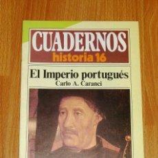 Coleccionismo de Revista Historia 16: CUADERNOS HISTORIA 16. 215 : EL IMPERIO PORTUGUÉS / CARLO A. CARANCI. Lote 251903410