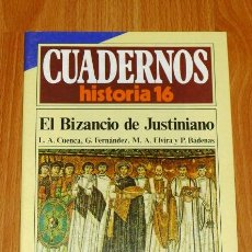 Coleccionismo de Revista Historia 16: CUADERNOS HISTORIA 16. 282 : EL BIZANCIO DE JUSTINIANO / L.A. CUENCA, G. FERNÁNDEZ, M.A. ELVIRA Y P.. Lote 251903575