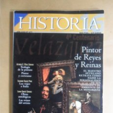 Colecionismo da Revista Historia 16: Nº 277 - HISTORIA 16 - 4º CENTENARIO VELAZQUEZ, PINTOR DE REYES Y REINAS. Lote 192960545