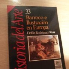 Coleccionismo de Revista Historia 16: HISTORIA DEL ARTE 33 BARROCO E ILUSTRACION EN EUROPA Nº 33 REVISTA HISTORIA 16 (1989). Lote 194128208