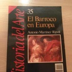 Coleccionismo de Revista Historia 16: HISTORIA DEL ARTE Nº 35 EL BARROCO EN EUROPA REVISTA HISTORIA 16 (1989). Lote 194128371