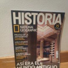 Colecionismo da Revista Historia 16: HISTORIA NATIONAL GEOGRAPHIC ASÍ ERA EL MUNDO ANTIGUO NÚMERO 179. Lote 194786032