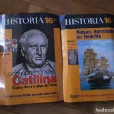 Coleccionismo de Revista Historia 16: HISTORIA 16 NRS. 255 Y 256 CON DOS LIBROS DE LA REVOLUCIÓN FRANCESA . SIN DESPRECINTAR. Lote 194953632