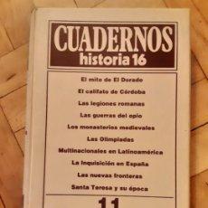 Coleccionismo de Revista Historia 16: TOMO 11, CUADERNOS DE HISTORIA 16, NRS. DEL 101 AL 110. Lote 194954978