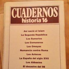 Coleccionismo de Revista Historia 16: TOMO NR.3 - CUADERNOS DE HISTORIA 16 - INCLUYE LOS NRS. 21 AL 30. Lote 194964006