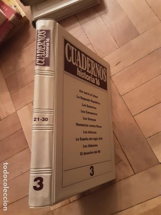 Coleccionismo de Revista Historia 16: Tomo nr.3 - Cuadernos de Historia 16 - Incluye los nrs. 21 al 30 - Foto 2 - 194964006
