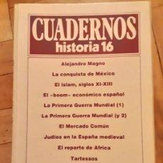 Coleccionismo de Revista Historia 16: TOMO 4 - CUADERNOS HISTORIA 16 - INCLUYE LOS NRS. 31 AL 40. Lote 194964562