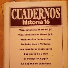 Coleccionismo de Revista Historia 16: TOMO 12 - CUADERNOS HISTORIA 16 - INCLUYE LOS NRS. 111 AL 120. Lote 194964826