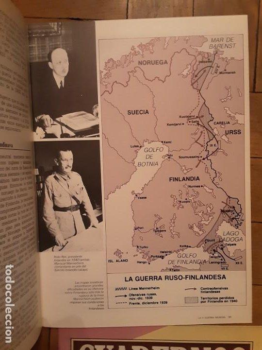 Coleccionismo de Revista Historia 16: Cuadernos Historia 16 - Segunda guerra Mundial- nr. 71, 72, 73 y 74. SERIE COMPLETA - Foto 2 - 194965883