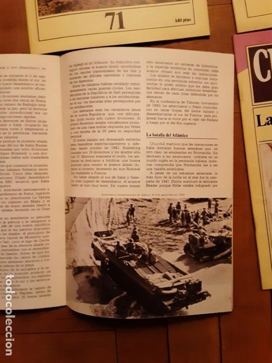 Coleccionismo de Revista Historia 16: Cuadernos Historia 16 - Segunda guerra Mundial- nr. 71, 72, 73 y 74. SERIE COMPLETA - Foto 3 - 194965883