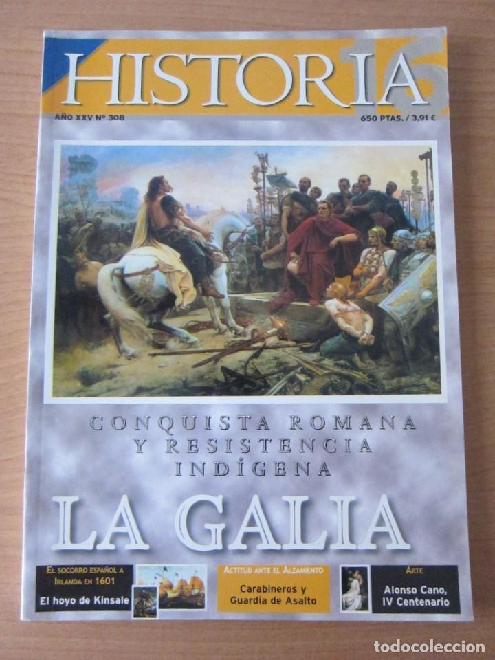 LA GALIA (Coleccionismo - Revistas y Periódicos Modernos (a partir de 1.940) - Revista Historia 16)