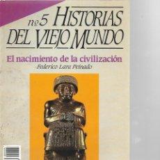 Coleccionismo de Revista Historia 16: REVISTA HISTORIA 16 Nº 5 HISTORIAS DEL VIEJO MUNDO. Lote 197858827