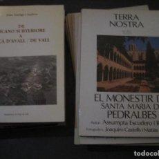 Coleccionismo de Revista Historia 16: 9 NÚMEROS TERRA NOSTRA + 16 REVISTAS Y FOLLETOS HISTORIA Y GEOGRAFIA DE CATALUNYA. Lote 198339017